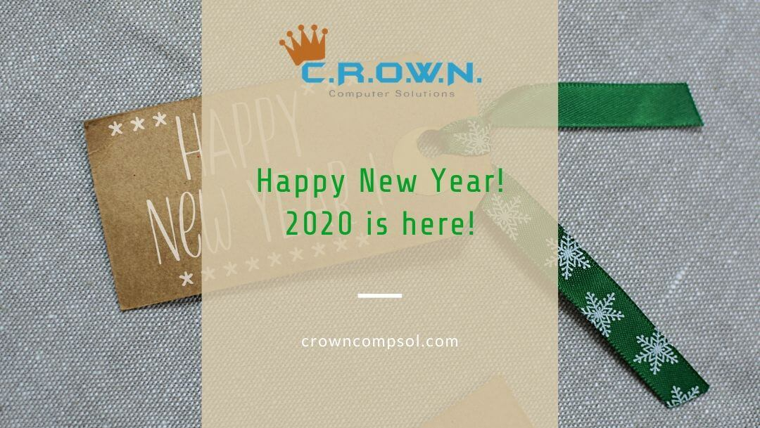 Happy New Year! 2020 is here!